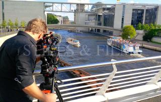 Berlin film crew