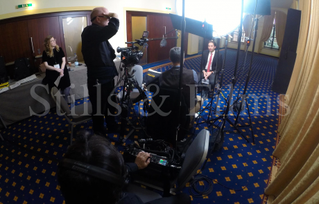 Corporate video shoot in Vienna for Pfizer 3