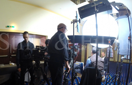 Corporate video shoot in Vienna for Pfizer 4