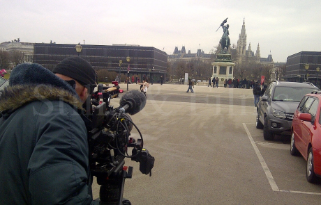 Corporate video shoot in Vienna for Pfizer
