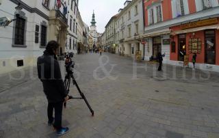 DHL Bratislava video crew