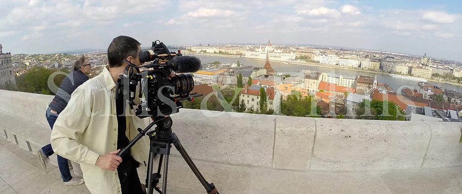 Filming in Budapest for Danish TV