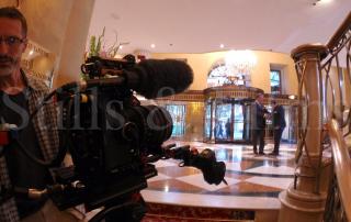Filming at Grand Hotel Vienna 2