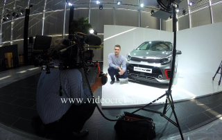 Filming at KIA in Frankfurt, Germany 6