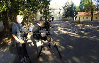 Filming in Hungary