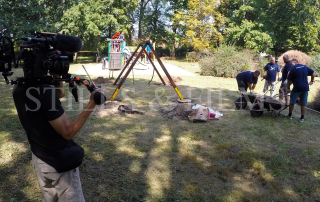 Filming in Hungary 4