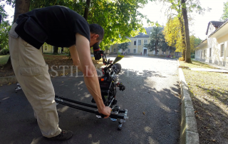 Filming in Hungary 6