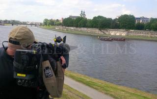 Filming in Krakow 3