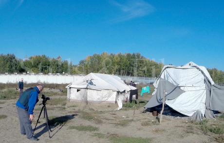 Filming refugees and migrants near the Hungarian border2