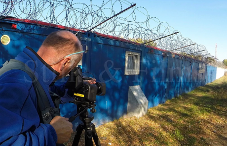 Filming refugees and migrants near the Hungarian border3