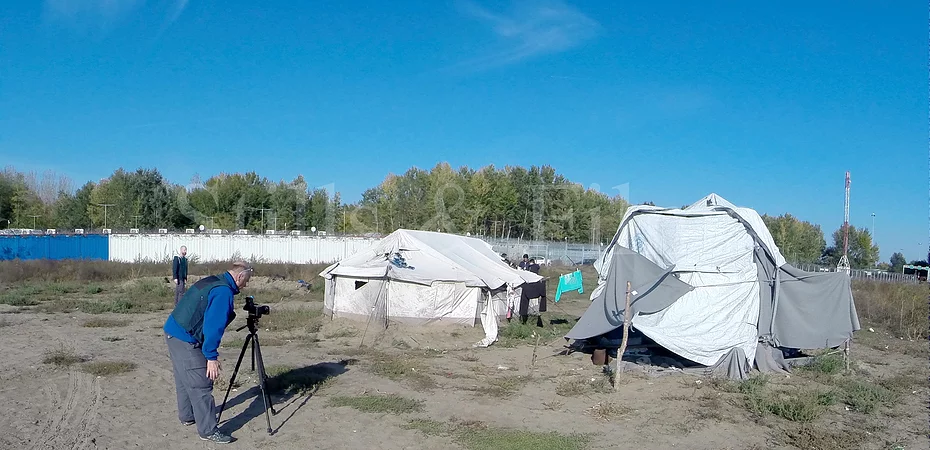Filming refugees & migrants in Serbia