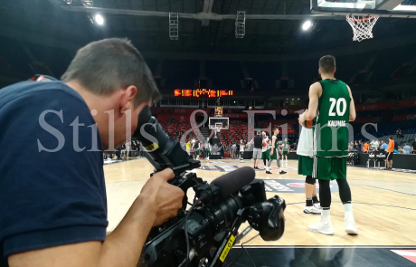 Final4 Belgrade - Zalgiris training