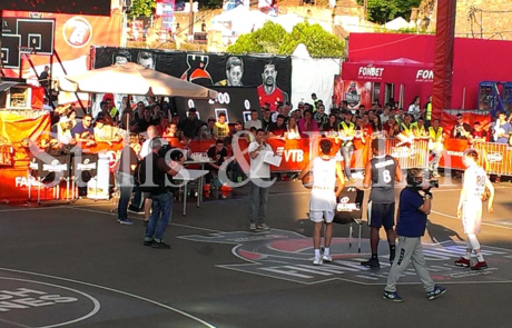 Final4 Belgrade - filming in fan zone
