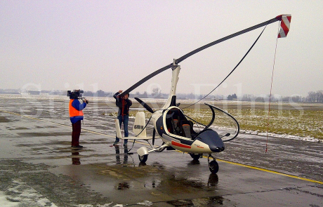 Gyrocopter shoot in Prerov 3