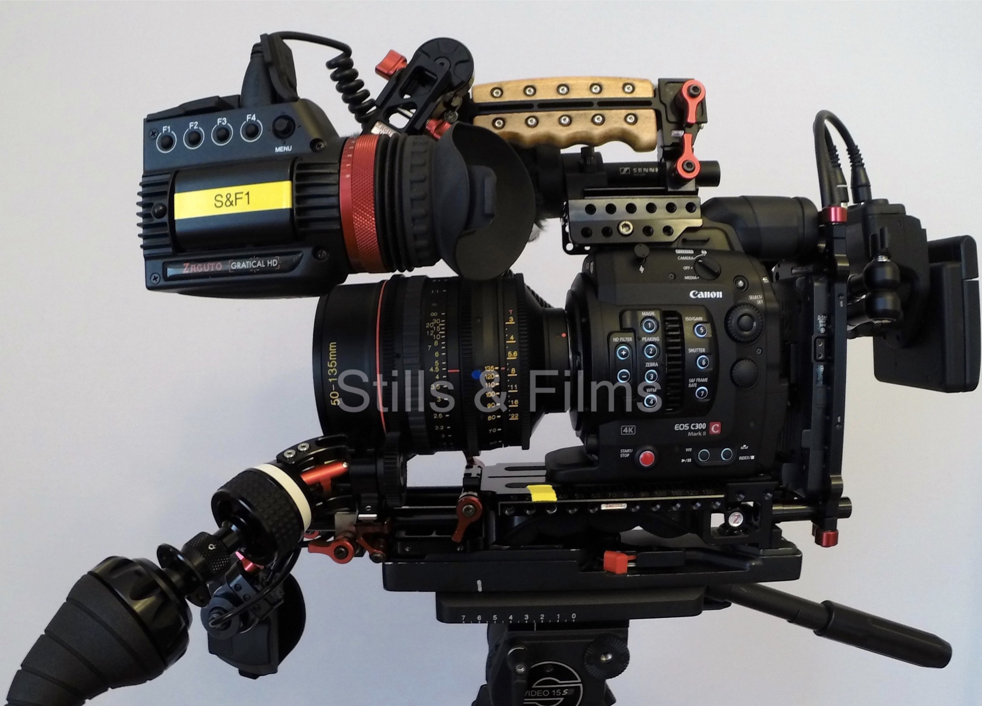 Canon C300 Mark II. 4K digital cinema camera