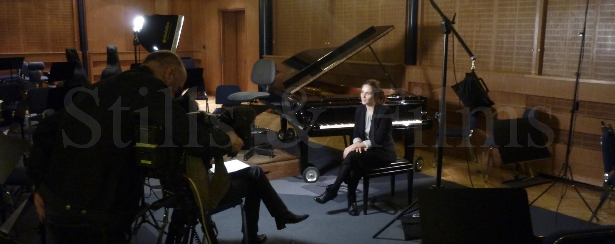 Interviewing Anna Vinnitskaya in Budapest