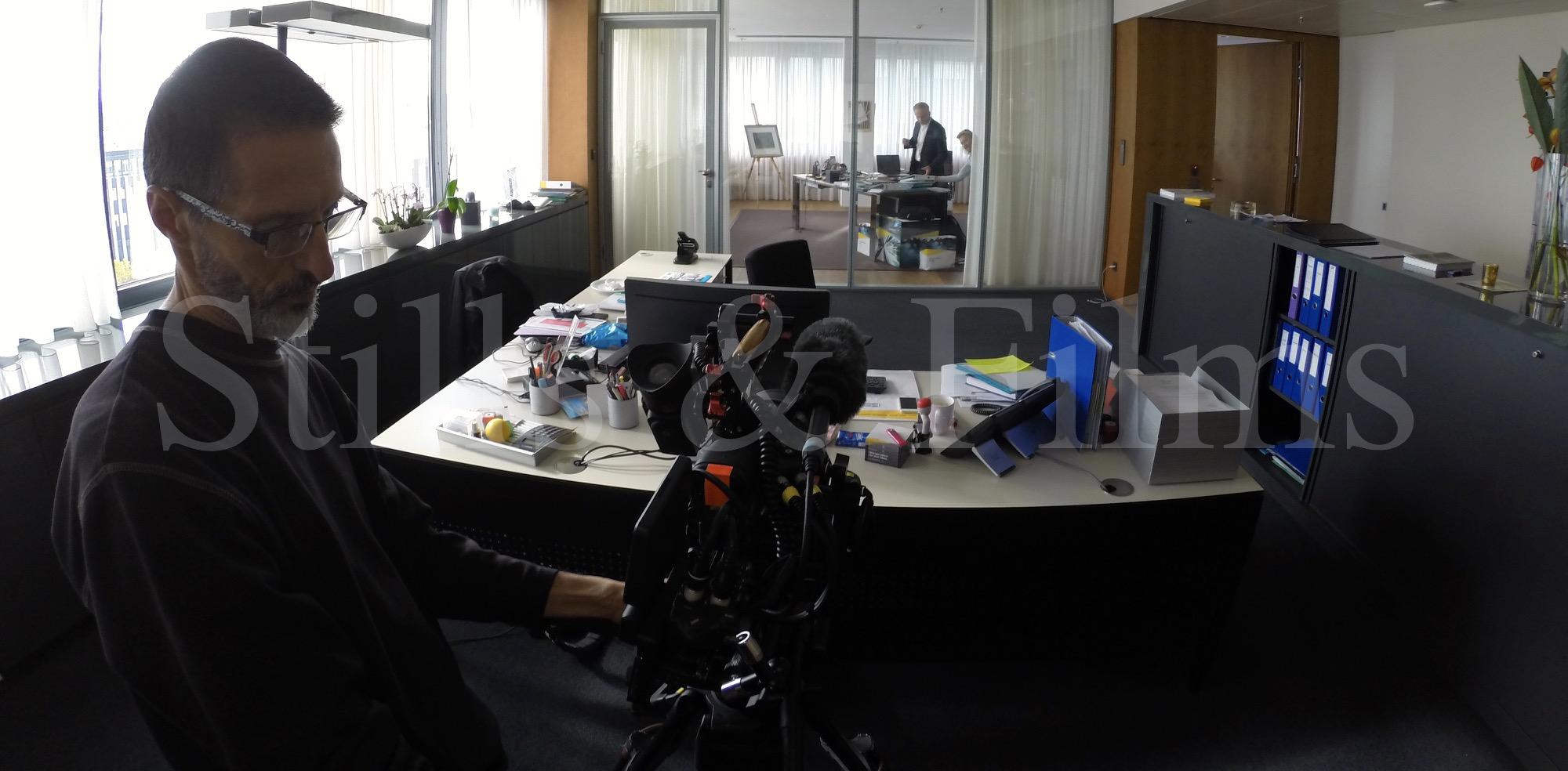 Video Crew Vienna interviewing Georg Kapsch