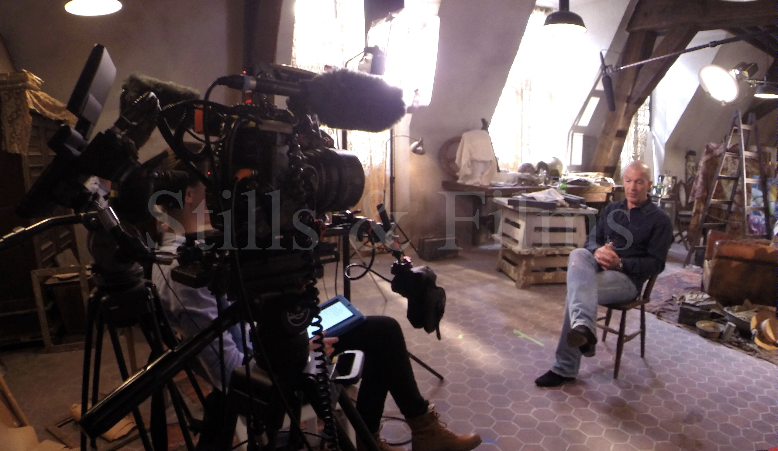 Video Production Budapest filming with Antonio Banderas