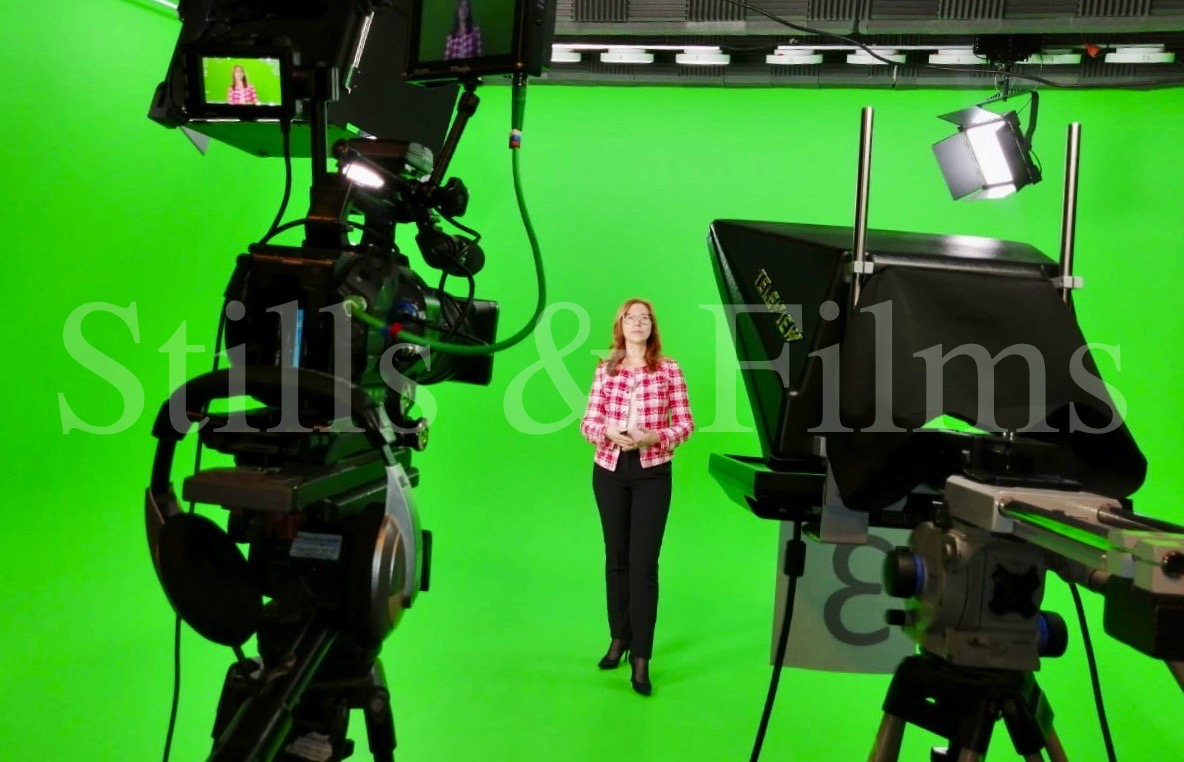 Green screen shoot in Moscow