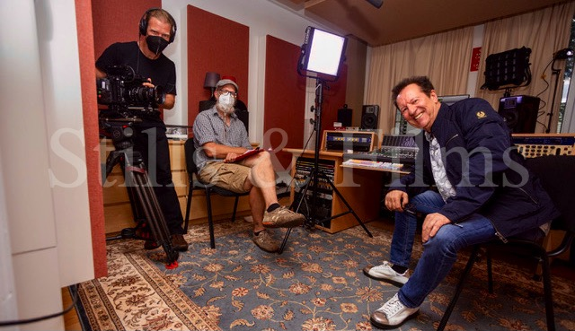 Scorpions documentary shoot in Munich
